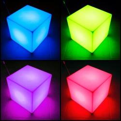 Asiento Cubo Luminoso
